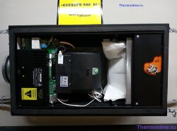 Приточная вентиляционная установка VENTMACHINE Колибри-500 EC GTC