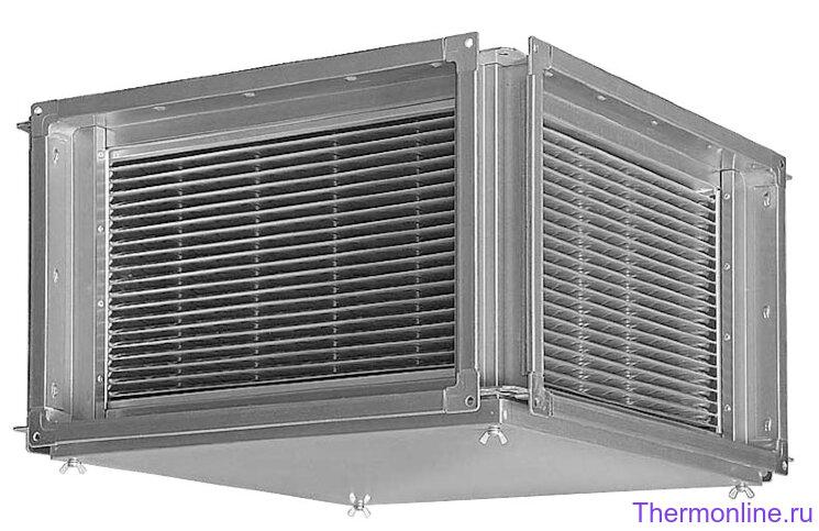 Пластинчатый рекуператор тепла Shuft RHPr 500x300