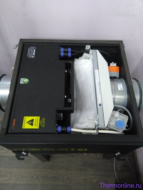 Приточная вентиляционная установка VENTMACHINE Колибри-700 EC GTC