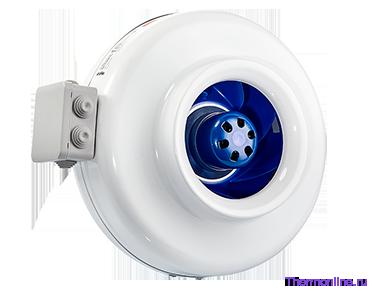 Круглый канальный EC вентилятор Shuft CFz 125 MAX