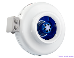 Круглый канальный EC вентилятор Shuft CFz 160 MAX