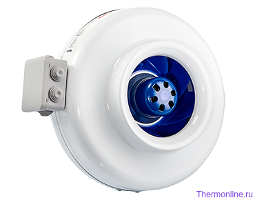 Круглый канальный EC вентилятор Shuft CFz 250 MAX
