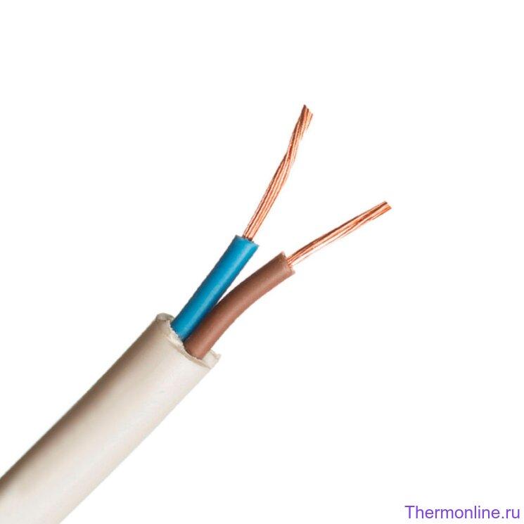 Кабель электрический ПВС 2x1.5 мм²
