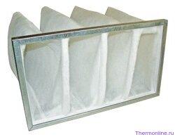 Фильтр пылевой жироустойчивый Blauberg FPT 592x592x48-G2