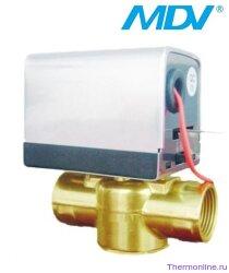 "Клапан трёхходовой с приводом MDV TWVK09 3/4"""