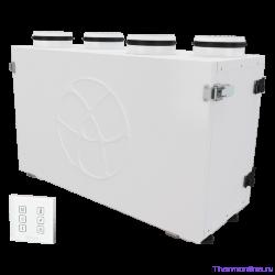Приточно-вытяжная вентиляционная установка Blauberg KOMFORT Ultra EC S2 300-H S14 white