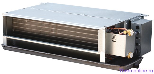 Фанкойл канальный двухрядный двухтрубный MDV MDKT2-400G50