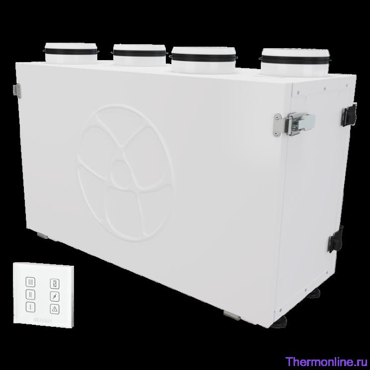 Приточно-вытяжная вентиляционная установка Blauberg KOMFORT Ultra EC S2 300-E S14 white