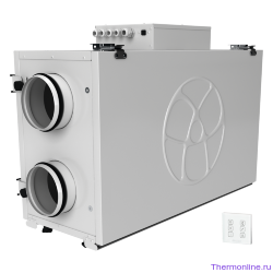 Приточно-вытяжная вентиляционная установка Blauberg KOMFORT Ultra EC L2 300-E S14 white
