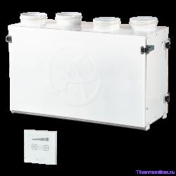 Приточно-вытяжная вентиляционная установка Blauberg KOMFORT Ultra S 250-H S12