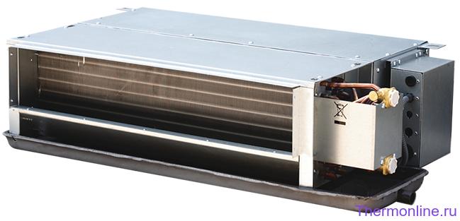 Фанкойл канальный двухрядный двухтрубный MDV MDKT2-1200G50