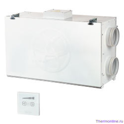 Приточно-вытяжная вентиляционная установка Blauberg KOMFORT Ultra L 250-H S12