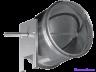 Воздушный клапан с подставкой под электропривод Shuft DCGAr 450