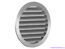 Алюминиевая наружная решетка для круглых воздуховодов SHUFT PGC 100