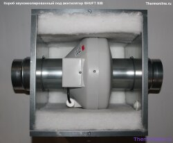 Короб звукоизолированный под вентилятор SHUFT SIB d.250 S