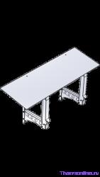 Горизонтальная монтажная рама с козырьком VENTMACHINE для ПВУ-350 EC и ПВУ-500 EC арт 1098