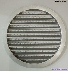 Алюминиевая наружная решетка для круглых воздуховодов SHUFT PGC 200