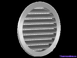 Алюминиевая наружная решетка для круглых воздуховодов SHUFT PGC 250
