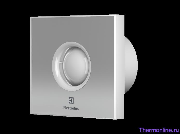 Вытяжной бытовой вентилятор Electrolux EAFR 100 Steel Rainbow