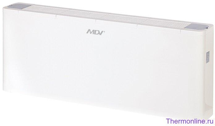 Фанкойл напольно-потолочный двухтрубный в корпусе MDV MDKH2-800-R3