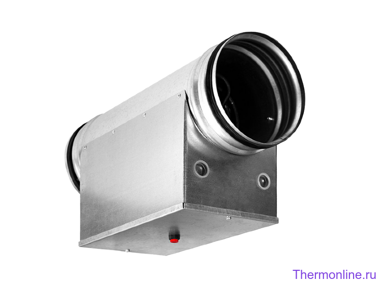 Электрический нагреватель для круглых каналов Shuft EHC 315-6.0/3