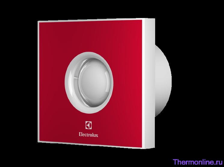 Вытяжной бытовой вентилятор Electrolux EAFR 100 Red Rainbow
