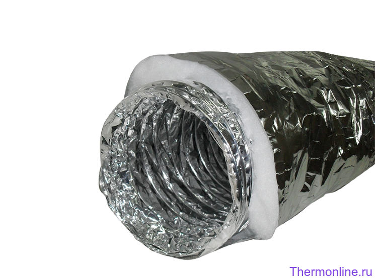Воздуховод звуко-теплоизолированный Ballu Machine SONOBFA-H 102 мм х 10 м