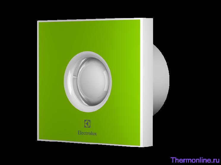 Бытовой вытяжной вентилятор Electrolux EAFR 120 Green Rainbow