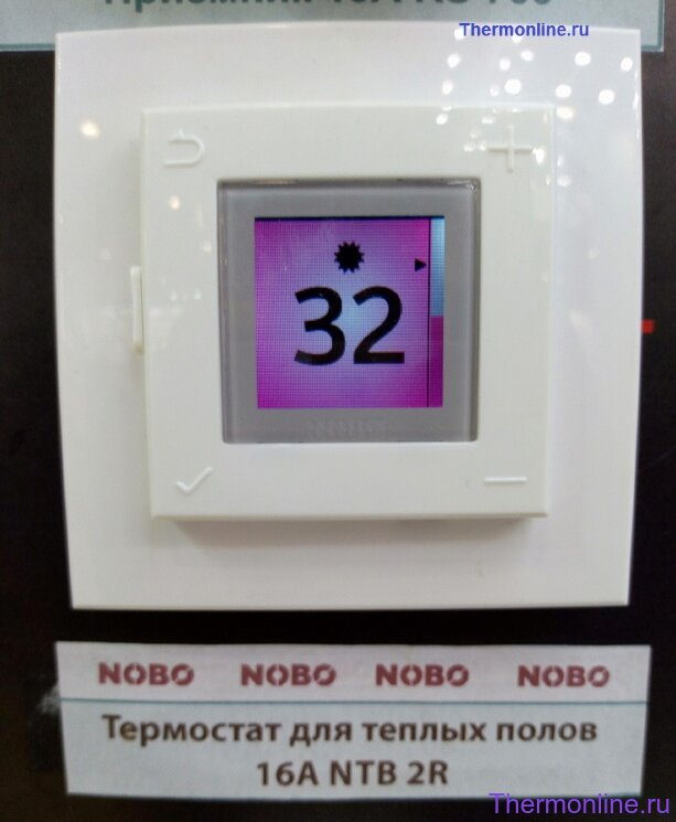Термостат NOBO NTB 2R