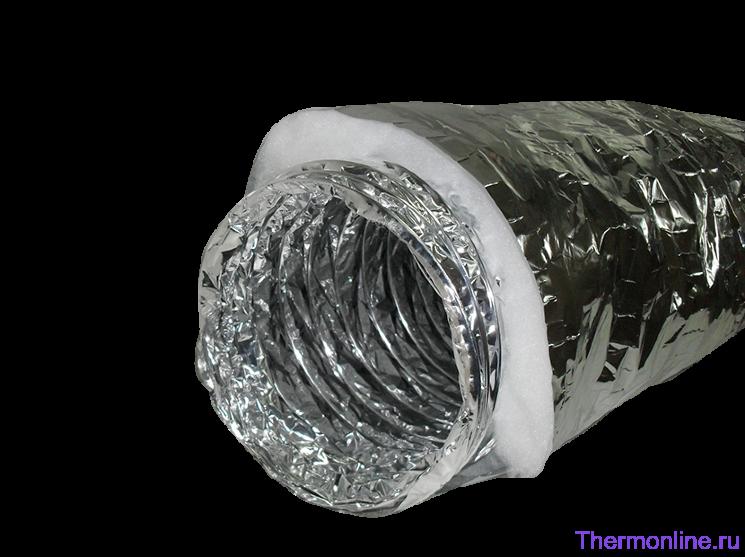 Воздуховод звуко-теплоизолированный Ballu Machine SONOBFA-H 127 мм х 10 м