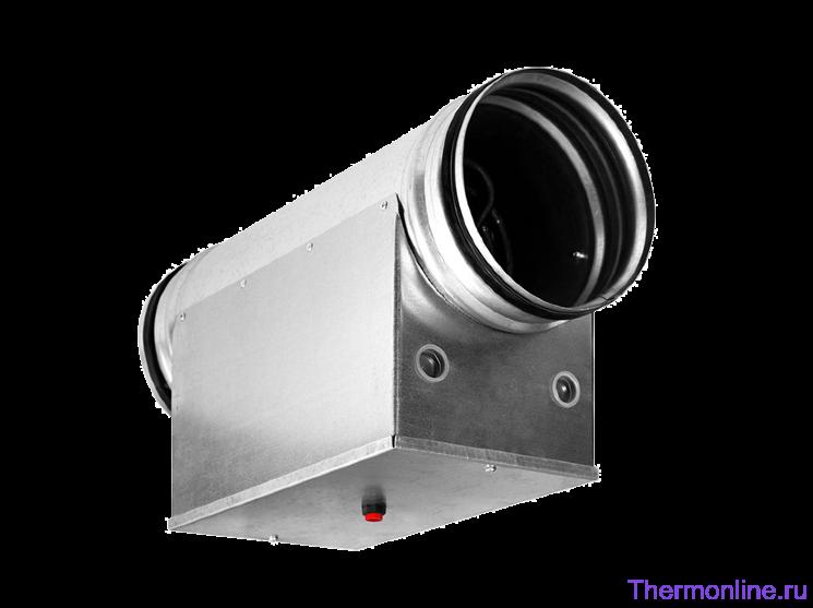 Электрический нагреватель для круглых каналов Shuft EHC 100-2.4/1