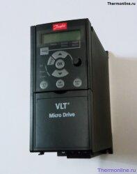 Частотный преобразователь Danfoss VLT Micro Drive FC 51 0,37 кВт (200-240, 1 фаза) 132F0002