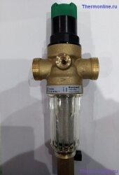 Фильтр для холодной воды с редуктором Honeywell FK 06 - 1/2 AA