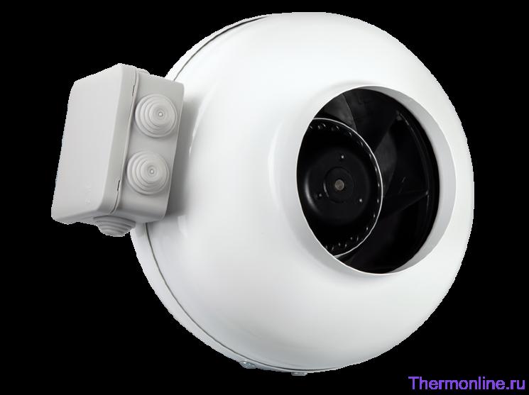 Круглый канальный вентилятор Shuft Tube 125 XL