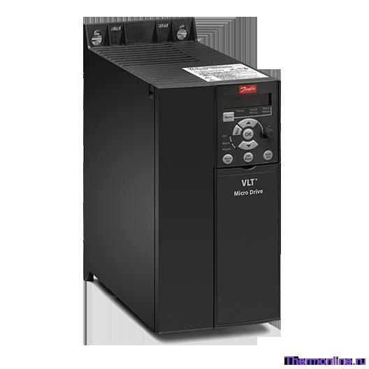 Частотный преобразователь Danfoss VLT Micro Drive FC 51 2,2 кВт (200-240, 1 фаза) 132F0007