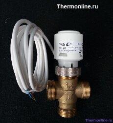 """Клапан трехходовой с приводом SHUFT RCVA 3/4"""" 2.5 - 230"""
