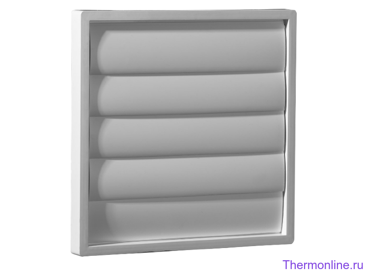 Пластиковая инерционная решетка Shuft WSK 45/40