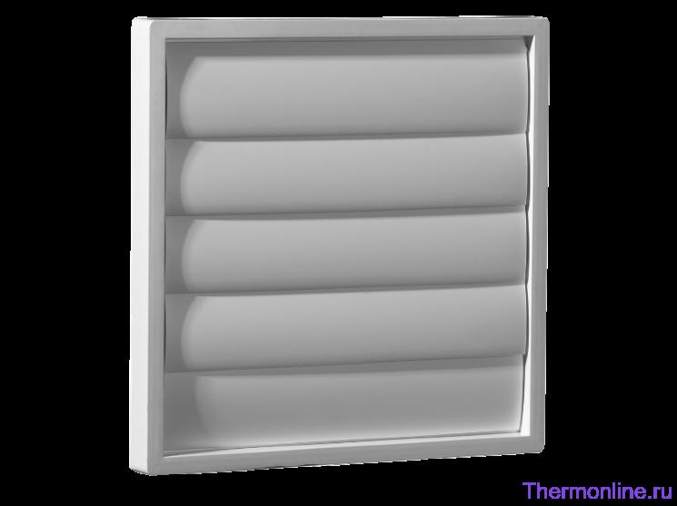 Пластиковая инерционная решетка Shuft WSK 20/16