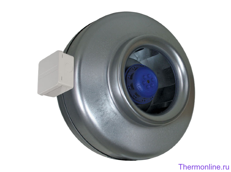 Круглый канальный высоконапорный вентилятор Shuft CFs 100