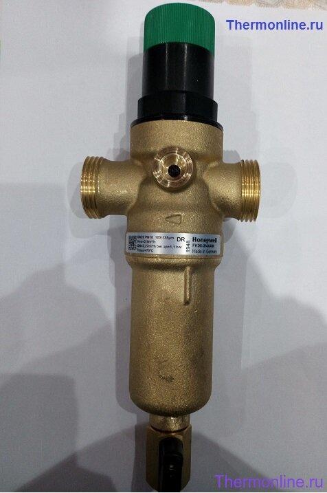Фильтр для горячей воды с редуктором Honeywell FK 06 - 3/4 AAM