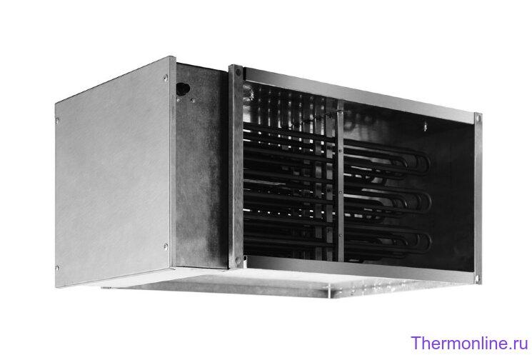 Электрический нагреватель для прямоугольных каналов Shuft EHR 500x250-18