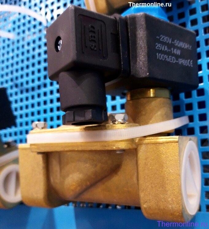 Электромагнитный клапан нормально-закрытый SBD 2V250-15 G1\2