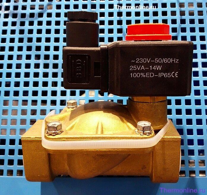Электромагнитный клапан нормально-закрытый SBD 2V250-20 G3\4