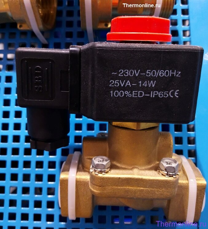 Электромагнитный клапан нормально-закрытый SBD 2V250-25 G1