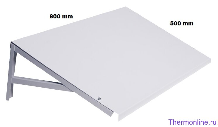 Козырёк Sinoptika 800x500mm