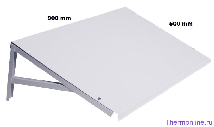 Козырёк Sinoptika 900x500mm