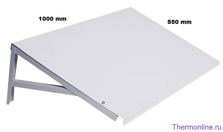 Козырёк Sinoptika 1000x550mm