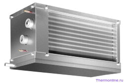 Водяной канальный охладитель Shuft WHR-W 400x200/3