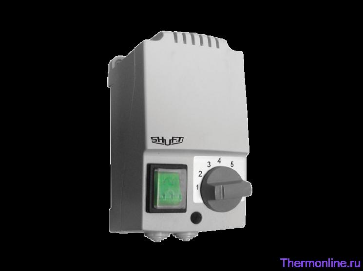 Пятиступенчатый регулятор скорости с термозащитой Shuft SRE-E-2,0-T
