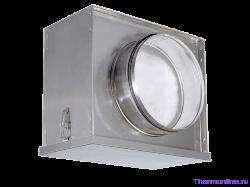 Воздушный фильтр-бокс с фильтром для круглых воздуховодов Shuft FBCr 125